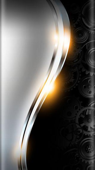 Обои на телефон серебряные, черные, стиль, свет, дизайн, грани, арт, абстрактные, s7, edge style