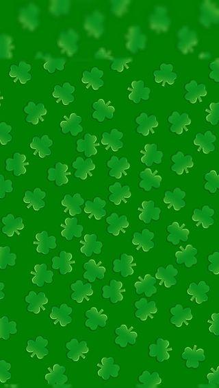 Обои на телефон трилистник, патрик, ирландия, золотые, зеленые, st partick, shamrocks, pot
