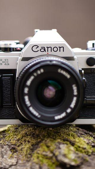 Обои на телефон объектив, камера, canon
