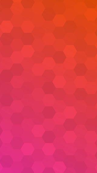 Обои на телефон шестиугольники, многоугольник, розовые, красые, дизайн, hexa