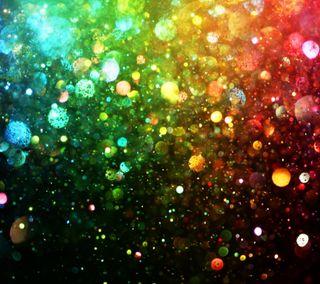 Обои на телефон сияние, фон, радуга, абстрактные, rainbow abstract, glittery