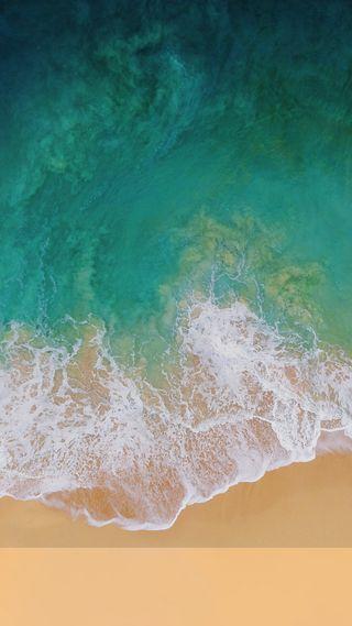 Обои на телефон пляж, новый, айфон, iphone, ios11, ios, 11
