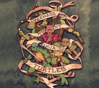 Обои на телефон черепахи, подросток, оригинальные, ниндзя, мутант, винтаж, ilustration