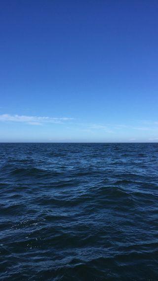 Обои на телефон океан, синие, небо, глубокие, вода, last frontier