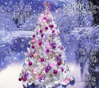 Обои на телефон украшения, дерево, снег, рождество, мороз, лед, звезда, белые, white christmas
