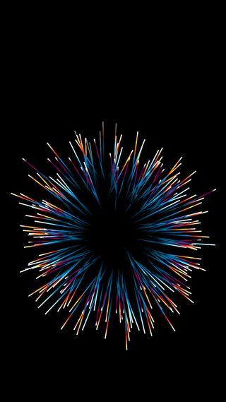 Обои на телефон взрыв, черные, цветные, фон, красочные, абстрактные, s8, s7, explosion of colors