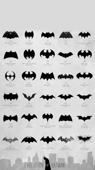 Обои на телефон эволюция, бэтмен, jsr, evolution batman, ddz