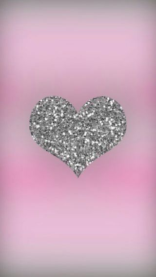 Обои на телефон серебряные, сердце, блестящие, silver heart glitter, silver heart