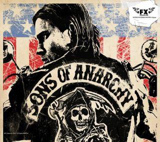 Обои на телефон сыны, мотоцикл, голливуд, анархия, sons of anarchy 2
