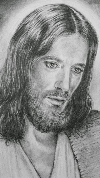 Обои на телефон христос, христианские, рисунки, карандаш, исус