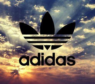 Обои на телефон небо, логотипы, бренды, адидас, adidas, adias