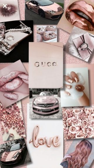 Обои на телефон гуччи, розовые, gucci