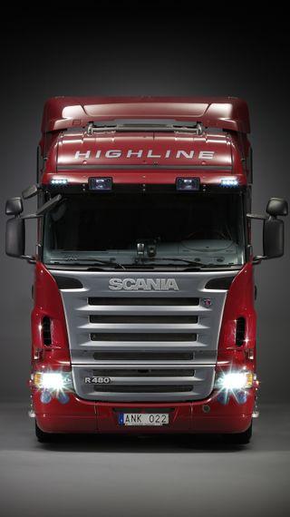 Обои на телефон класс, грузовик, topline, scania r, scania, rig, lorry, longline, highline, big