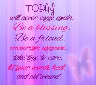 Обои на телефон сегодня, думать, розовые, приятные, крутые, забота, жизнь, друг, высказывания, today think, blessing