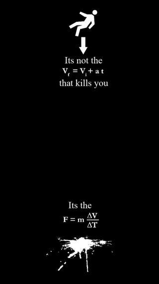 Обои на телефон юмор, шутка, черные, цитата, осень, забавные, physics, kill