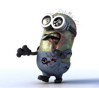 Обои на телефон зомби, миньоны, zombie minion