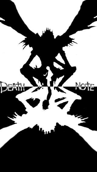 Обои на телефон смерть, аниме, vhmp, death-note
