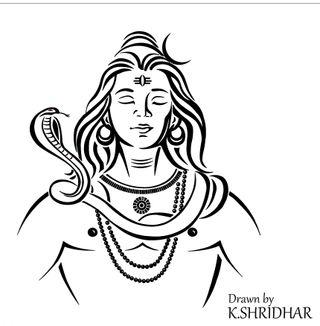 Обои на телефон шива, shiva shridhar, k shridhar, drawnbyshridhar