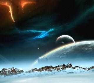Обои на телефон космос, вселенная