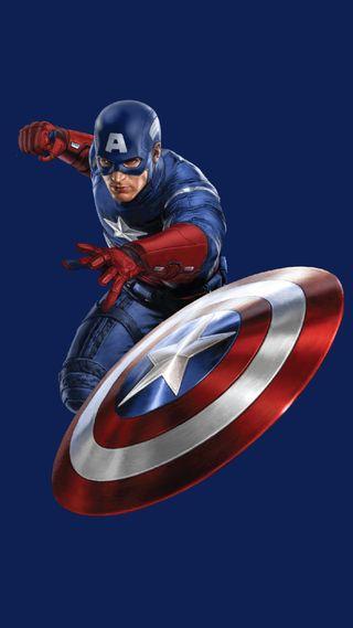 Обои на телефон марвел, капитан, америка, marvel