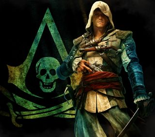 Обои на телефон экшен, приключение, крид, игры, ассасин, assassin creed 4, assassin creed, action adventure