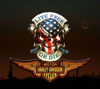 Обои на телефон эмблемы, харли, флаг, сша, мотоциклы, логотипы, байк, америка, usa