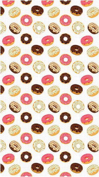 Обои на телефон еда, yum, donuts
