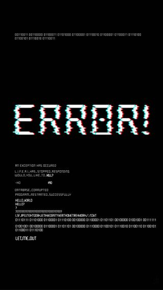 Обои на телефон ошибка, компьютер, крутые, вирус, bug, 404