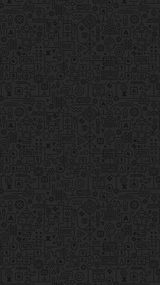 Обои на телефон шаблон, черные, формы, темные, серые