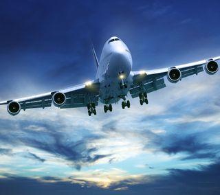 Обои на телефон самолет, boeing, 747