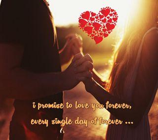Обои на телефон навсегда, цитата, ты, романтика, приятные, поговорка, новый, любовь, знаки, вечность, love you forever, love