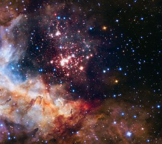 Обои на телефон фейерверк, космос, звезда, галактика, galaxy, celestial fireworks