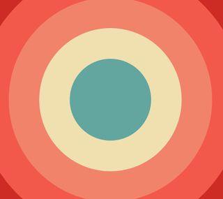 Обои на телефон ретро, круги, абстрактные, retro circle
