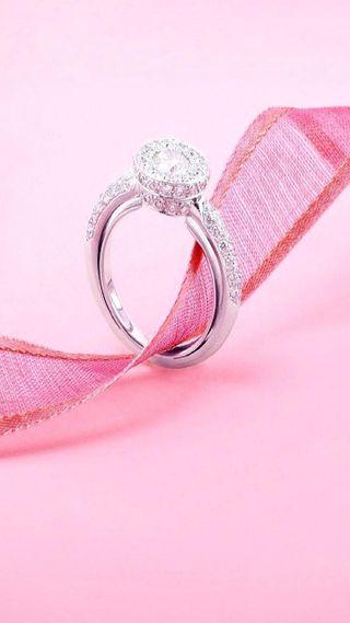 Обои на телефон подарок, ты, свадьба, любовь, лента, кольцр, i love you, engagement ring
