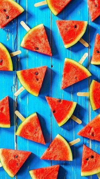 Обои на телефон подарок, цветные, фрукты, подарки, лето, кислород, звезда, арбуз, watermelons