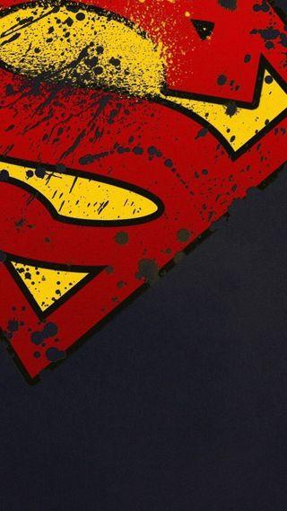 Обои на телефон супермен, логотипы, jyj, ehetj