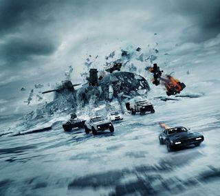 Обои на телефон судьба, снег, скорость, семья, небо, машины, война, бег