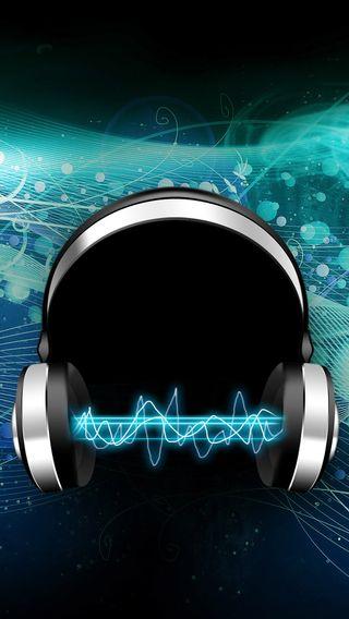 Обои на телефон слышать, наушники, музыка, hear the music