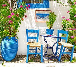 Обои на телефон дом, природа, прекрасные, греция