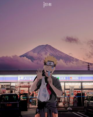 Обои на телефон узумаки, японские, наруто, лето, лед, аниме, shop, naruto x ice cream, azia