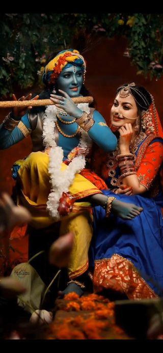Обои на телефон кришна, бог, radhekrishna, radhe