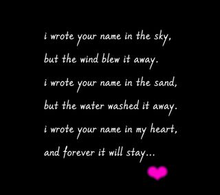Обои на телефон навсегда, сердце, мой, любовь, высказывания, love, forever in my heart