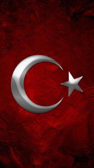 Обои на телефон флаг, турецкие, луна, красые, империя
