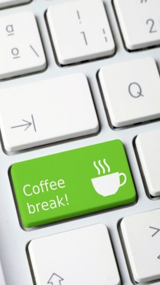 Обои на телефон кофе, забавные, coffee break