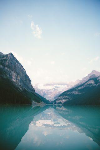 Обои на телефон холод, синие, природа, прекрасные, пейзаж, озеро, далеко, горы, far far away
