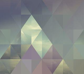 Обои на телефон формы, треугольник, абстрактные, blackberry, bbm, 3д, 3d