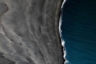 Обои на телефон океан, пляж, естественные, вода, iceland