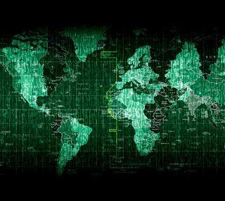Обои на телефон карта, мир, зеленые, the world