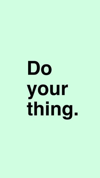 Обои на телефон пастельные, текст, твой, свет, простые, поговорка, мотивационные, inspo, do your thing