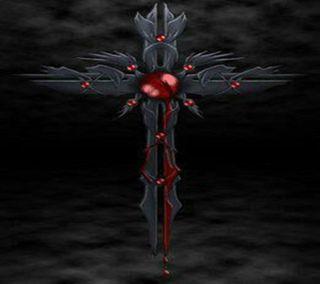 Обои на телефон террор, siniestros, gotico, espiritual, cruz 001